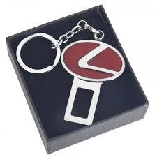 lexus emblem dual purpose enamel alloy lexus emblem car key chain safety seat