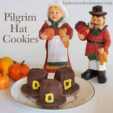 pilgrim hat cookies hip homeschool