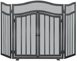 fireplace screen doors wrought iron custom suzannawinter com