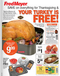 fred meyer coupon deals 11 11 turkey deal thanksgiving basics