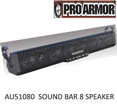 wildcat 1000 x trail pro armor 8 speaker sound bar system