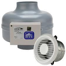 Exhaust Fans For Bathroom by Bathroom Exhaust Fan Kits W Aerogrille Continental Fan