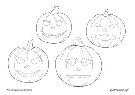 halloween decorations u2013 printable pumpkin templates bystre dziecko