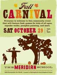 meridian fall carnival typography we love pinterest
