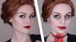 supernatural abaddon makeup tutorial youtube