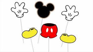 mickey mouse photo booth props de mickey mouse photobooth 190 00 en mercado libre