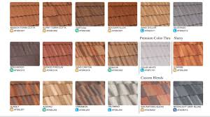 Roof Tile Colors Tile Concrete Roof Tile Colors Home Design Ideas Cool In