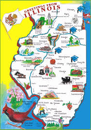 Elgin Illinois Map by Illinois State Maps Usa Maps Of Illinois Il
