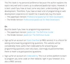 javascript tutorial online book what would make online tutorials better quora