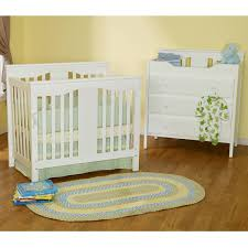 Convertible Mini Crib Davinci Annabelle 2 In 1 Mini Convertible Crib In White M5998w