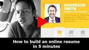 Create A Online Resume by How To Create A Beautiful Online Resume And Why It U0027s A Smart Idea