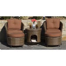 Castlecreek Patio Furniture by Woodard Grayton Beach Wicker Patio Set 218331 Patio Furniture