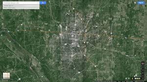 Columbia Missouri Map Columbia Missouri Map