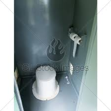 Outhouse Pedestal Toilet Dirty Outhouse Gl Stock Images