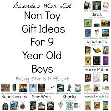 non gift ideas for 9 year boys every is different