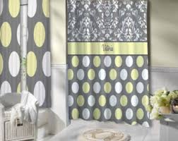 Grey And Yellow Shower Curtains Grey And Yellow Shower Curtain Home Design Plan