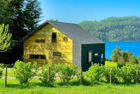 a vacation house with a playful design matías silva aldunate