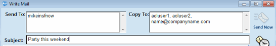 How Does Blind Carbon Copy Work How Do I Cc Or Bcc Someone When Sending Mail Using The Aol Desktop
