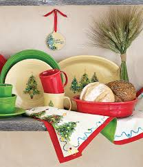 dinnerware tree collection display with
