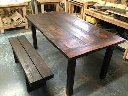 table cuisine banc table de cuisine bois cheap images with table de cuisine bois best