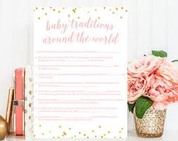 baby list baby shower printable baby shower