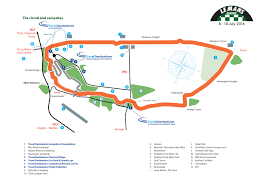 map of le mans aco circuit cing for the le mans classic 2018
