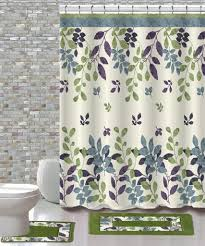 Shower Curtains Sets For Bathrooms by 15 Piece Shower Curtain Set Forest U2013 Daniel U0027s Bath And Beyond