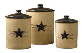 rustic kitchen canister sets amazon com park designs vine canisters set of 3