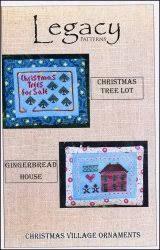 christmas village ornaments christmas tree lot gingerbread house