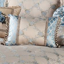 blooming treillage floral comforter bedding