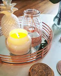 copper decor living room coffee table anthropologie marble