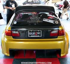 Backyard Special Eg Sema Showstopper Widebody Eg Stance Is Everything