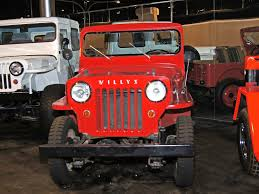 jeep hurricane 1956 jeep willys cj 3b museum exhibit 360carmuseum com