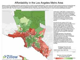 Los Angeles Zip Code Map by A Middle Class La Household Can Only Afford 12 Of Homes Curbed La