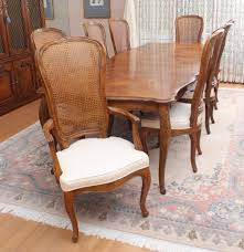 henredon french provincial style dining table and chairs ebth