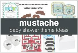baby shower mustache theme boy baby shower themes shower that baby