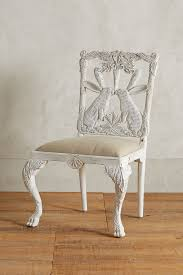 home decor like anthropologie handcarved menagerie rabbit dining chair anthropologie
