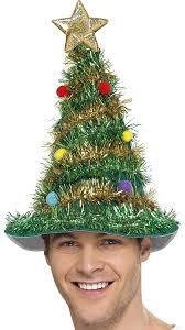 smiffy u0027s christmas tree hat smiffys amazon co uk toys u0026 games