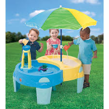 step 2 sand and water table step2 shady oasis sand water play table step 2 toys r us