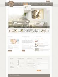 interior design websites website template 57350 idea interior design custom website