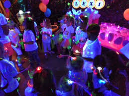 glow in the party trending in the party world black light neon glow in the