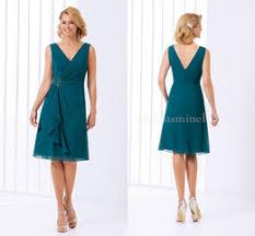 teal chiffon knee length dress online teal chiffon knee length