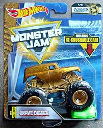 wheels monster jam grave digger truck 2018 wheels monster jam grave digger mj golden machines