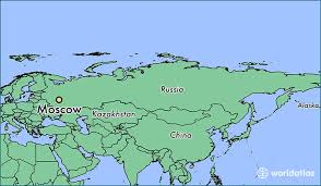 moscow russia map where is moscow russia where is moscow russia located in the