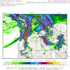Oregon Weather Map by Cliff Mass Weather And Climate Blog Significant Chance Of Lowland
