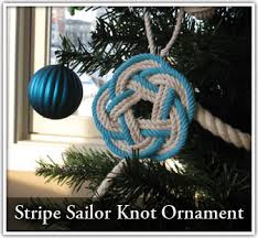 sailor not stripe ornament paracord ideas sailor
