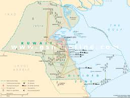 Kuwait On A Map Transemuz Services Sea Freight