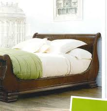 beautiful bedroom with sleigh bed design ideas home design