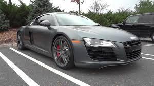 Audi R8 Nardo Grey - matte grey audi r8 walkaround youtube
