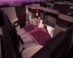 Bedroom With Bed In Middle Of Room Qatar Airways Launches New U0027super Business Class U0027 Suites